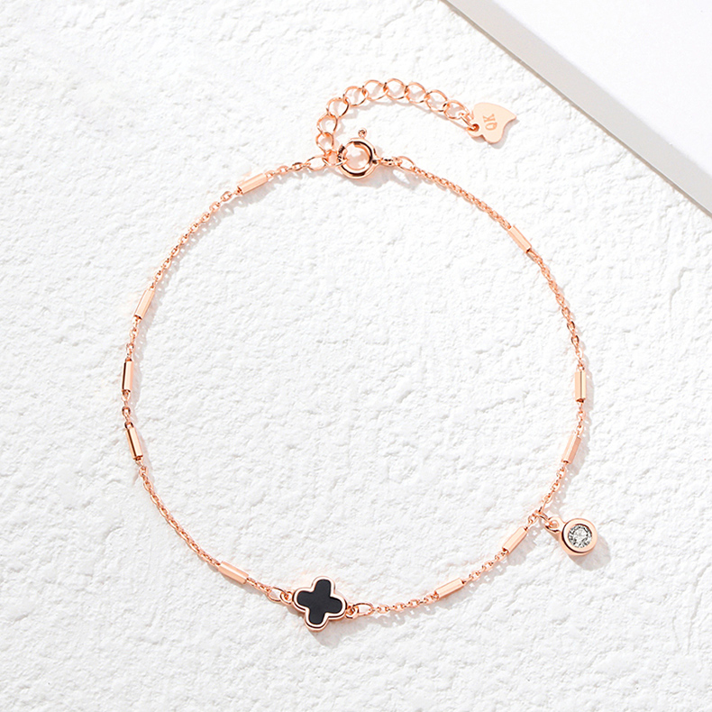 armband mit kleeblatt