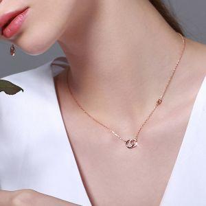 Halskette Damen Silber 925 mit Anhänger Zirknoia Schmuck Kette