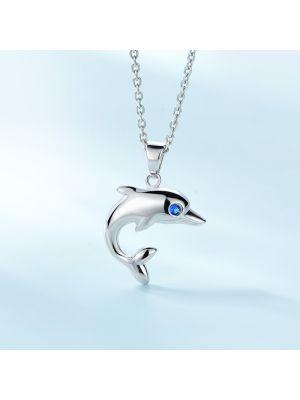 halskette mit delfin anhänger