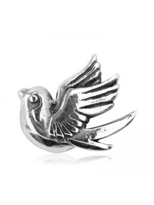 Ohrstecker Vogel Silber Vintage einzeln