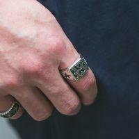 ring herren silber