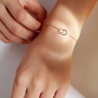 modern Armband Damen 925 Silber Frauen Armschmuck