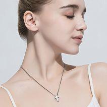 Tungsten Halskette Herren Kreuz mit Anhänger Damen