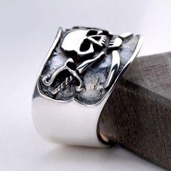 herrenring silber 925 mit stein