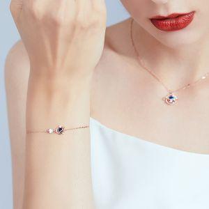 Damen Armband Silber vergoldet mit Zikonia Planet
