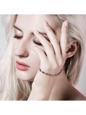 silber armband mit perlen