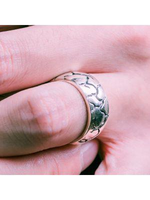 Herrenring Silber 925 Breit Männer Ring