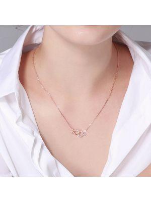 Damen  Halskette Silber Schmuck Ketten